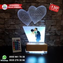 RESİMLİ 3D LED LAMBA - İSİMLİ KİŞİYE ÖZEL 3 BOYUTLU DEKORATİF LED LAMBA