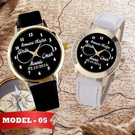 İsimli Çift Saati İsimli Erkek Saati İsimli Kadın Saati Sevgiliye Hediye