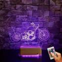 Harley Motor İsimli Gece Lambası Doğum Günü Hediyesi İsimli Masa Lambası