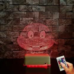 Doğum Günü Hediyeleri İsimli Masa Lambası Ninja Kaplumba İsimli Gece Lambası