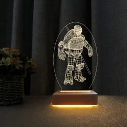 3d Dekoratif Masa Lambası Çocuk Odası Ninja Kaplumbağa Gece Lambası