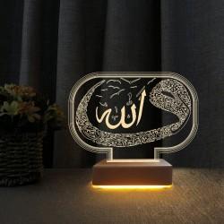 3d Gece Lambası Vav Tasarım Anneler Günü Hediyesi Gece Lambası