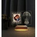 Doğum Günü Hediyesi Fotoğraflı Gece Lambası İyiki Doğdun Hediyesi