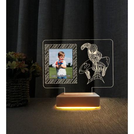 Anneler Günü Hediyesi Resimli Gece Lambası Anneye Hediye Lamba