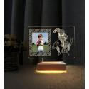 Doğum Günü Hediyesi Resimli Gece Lambası 3d Örümcek Adam