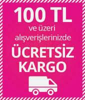 100 TL ÜZERİNE ÜCRETSİZ KARGO